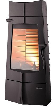 BINIKTA Piec wolnostojący Invicta 10kW Chamane 10 (górna średnica wylotu spalin: 180mm) - spełnia anty-smogowy EkoProjekt 86854945