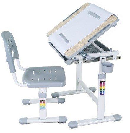 Biurkosa Biurko + Krzesełko dla dziecka zestaw Grey 11976302
