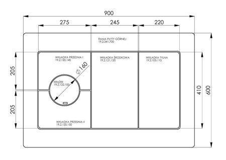 DOSTAWA GRATIS! 22774572 Kuchnia, angielka 6,5kW TK2-610 zabudowana bez termometru, bez płaszcza wodnego (kolor: kremowy) - spełnia anty-smogowy EkoProjekt