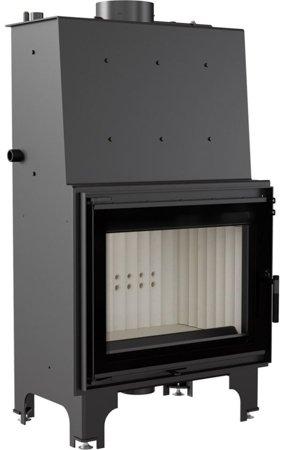 DOSTAWA GRATIS! 30065530 Wkład kominkowy 18kW AQUARIO A18 PW GLASS z płaszczem wodnym, wężownicą (szyba prosta) - spełnia anty-smogowy EkoProjekt