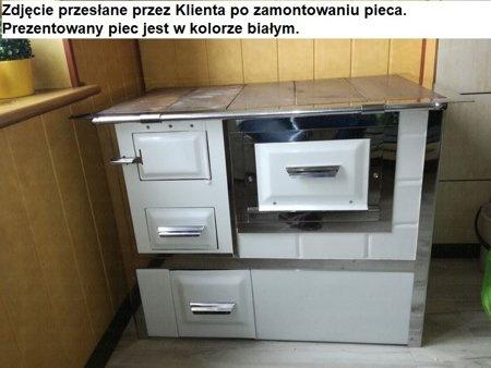 DOSTAWA GRATIS! 92238157 Kuchnia, angielka 9,5kW Monika, bez płaszcza wodnego