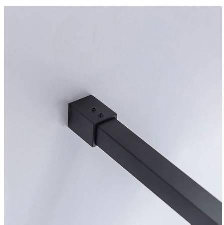 HYDAR KABINA PRYSZNICOWA 90x90 SZKŁO 6mm KWADRAT CZARNA 23178196