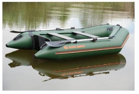 KOLAG Ponton turystyczno-wędkarski, 4 osób (dopuszczalne obciążenie: 265 kg, wymiary: 260x140 cm) 22678128
