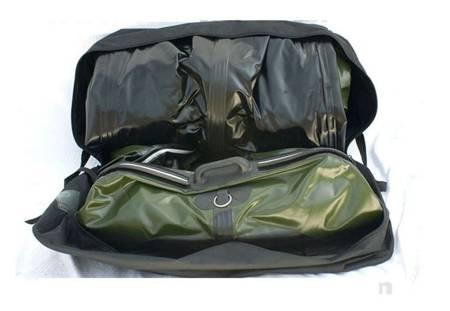 KOLAG Ponton turystyczno-wędkarski, 4 osób (dopuszczalne obciążenie: 455 kg, wymiary: 330x160 cm) 22678179