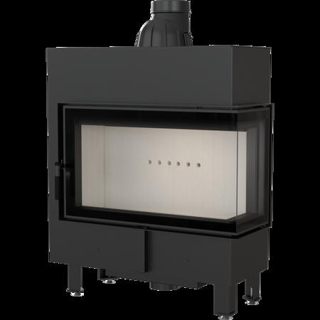 KONS Wkład kominkowy 10kW Lucy Slim BS (prawa boczna szyba bez szprosa) - spełnia anty-smogowy EkoProjekt 30072663