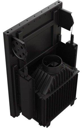 KONS Wkład kominkowy 8kW Maja Gilotyna (szyba prosta podnoszona do góry) - spełnia anty-smogowy EkoProjekt 30040898