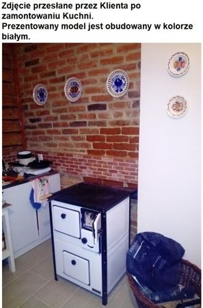 Kuchnia, angielka 5,6kW MINI, Jawor - bez płaszcza wodnego (obudowana) 25969044