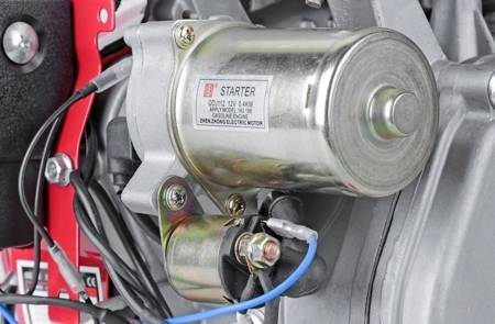 LETA Silnik spalinowy rozruch z kliczyka (wymiary wałka: 25x60mm, moc: 15.2HP) 21777701