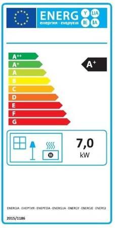 POMA Piec wolnostojący MBS 7kW Hera (kolor: czarny) - spełnia anty-smogowy EkoProjekt 88876223