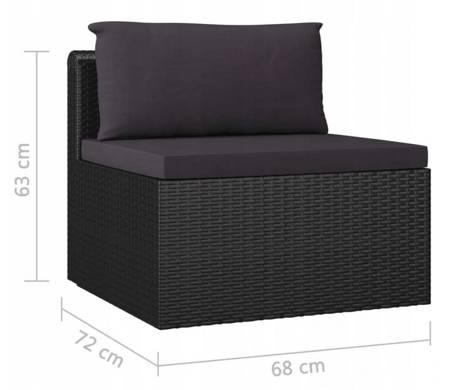 SEDEN Sofa ogrodowa ze stolikiem meble ogrodowe 22778060