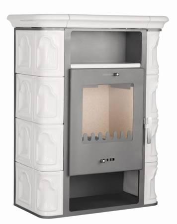 TOPGAR Piec kaflowy 7,2kW krem (średnica wylotu spalin: 150 mm) - spełnia anty-smogowy EkoProjekt 19877515