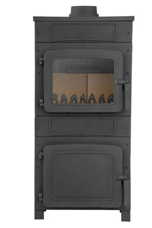 TOPGAR Piec stalowo-żeliwny 6,1kW (średnica wylotu spalin: 120 mm) - spełnia anty-smogowy EkoProjekt 19877481