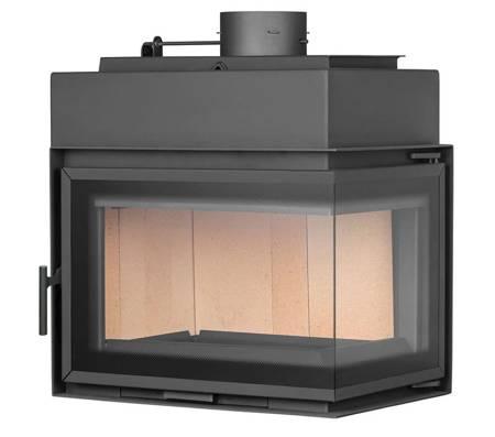 TOPGAR Wkład stalowy 12,6kW (prawa boczna szyba) - spełnia anty-smogowy EkoProjekt 19877527