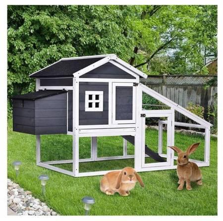 WOLAG KLATKA KURNIK dla kur królików drewniana 24378383