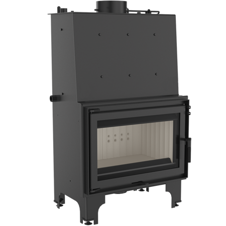 Wkład kominkowy 16kW AQUARIO O16 PW  z płaszczem wodnym, wężownicą (szyba prosta) - spełnia anty-smogowy EkoProjekt 30046801